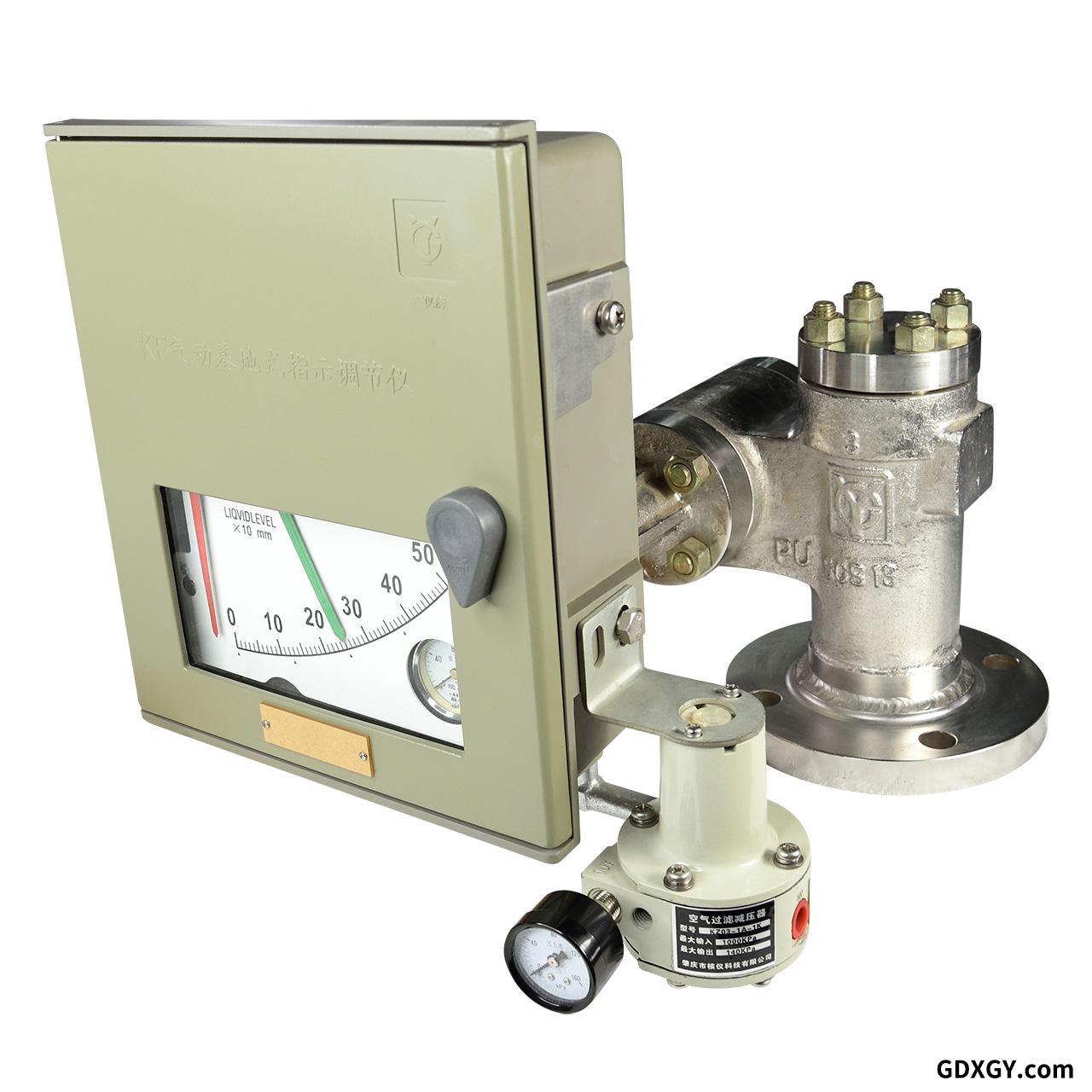气动浮筒液位指示调节器
