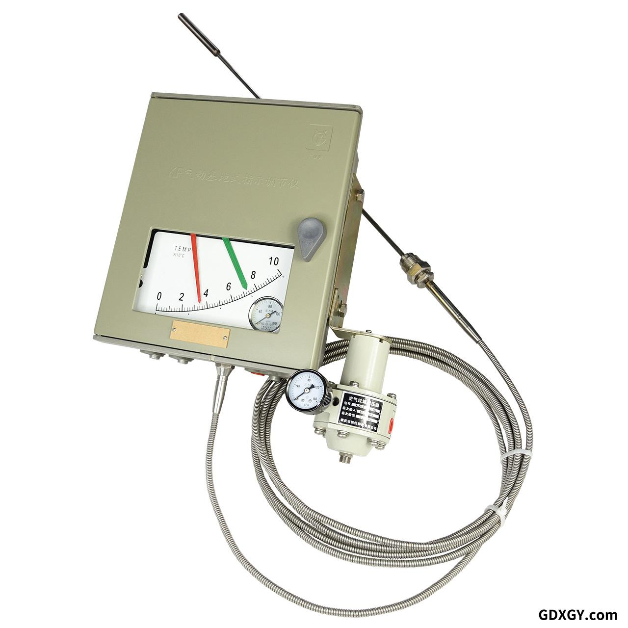 气动温度指示调节器